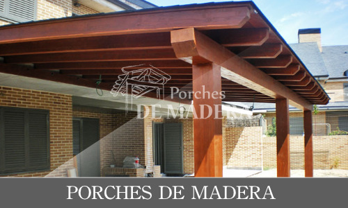 Porches de madera baratos en madrid fabricaci n - Porches de madera en madrid ...